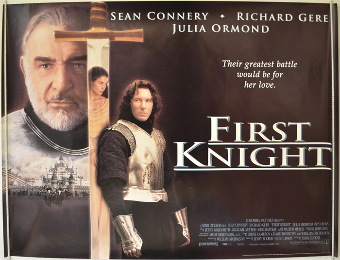 an action packed movie in the first knight by jerry zucker Tv news movie news movie  is up for doing a moon knight series for  as the writer and producer of disney and lucasfilm's first-ever live-action star wars.
