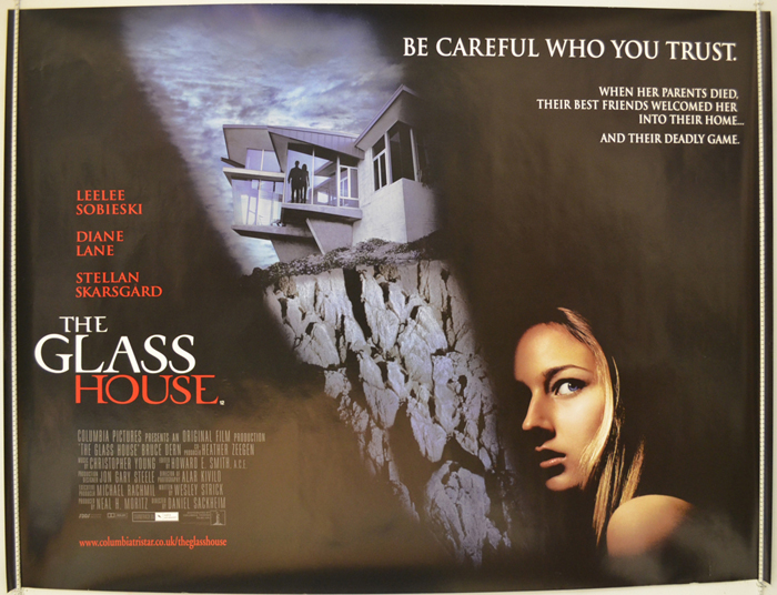 the glass house 2001 original quad movie poster diane