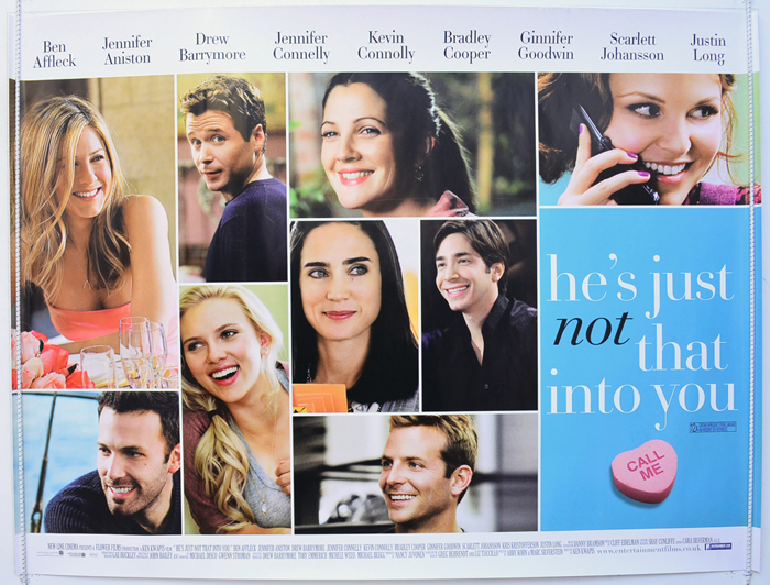 Hes Just Not That Into You - Original Cinema Movie Poster