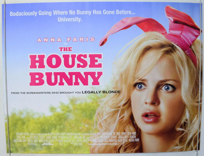 House Bunny (The) - Original Cinema Movie Poster From ...