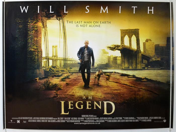 I Am Legend - Original Cinema Movie Poster From ...