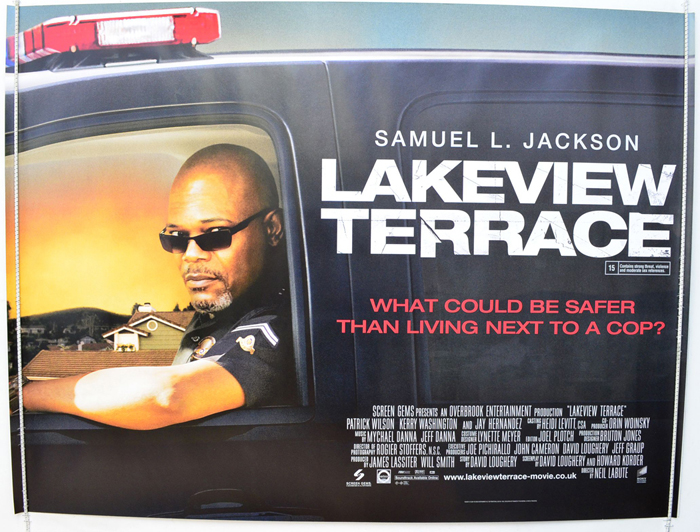 Lakeview terrace original cinema movie poster from for Terrace theater movies