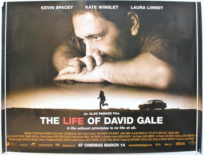 The Life of David Gale 2003  Rotten Tomatoes