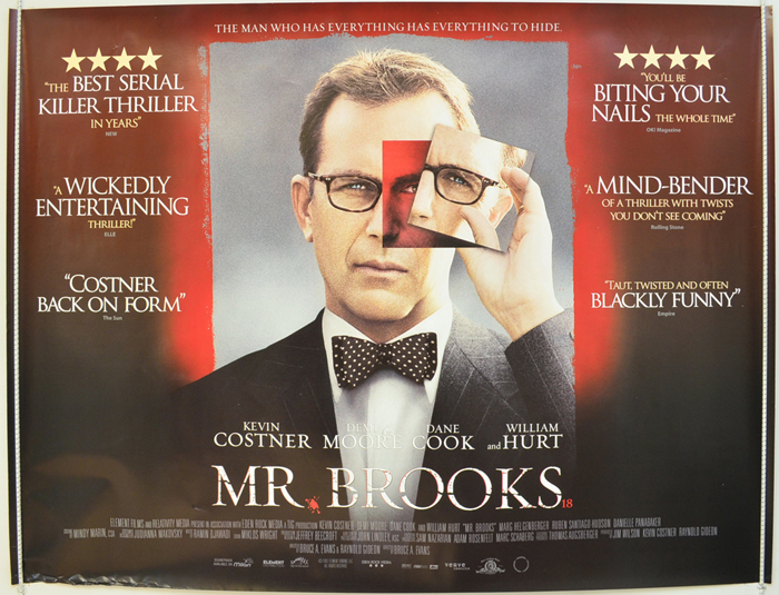 Mr. Brooks - Original Cinema Movie Poster From pastposters ...
