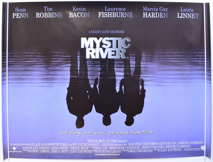 Movie Posters 2003: MYSTIC RIVER (2003) Quad Movie Poster