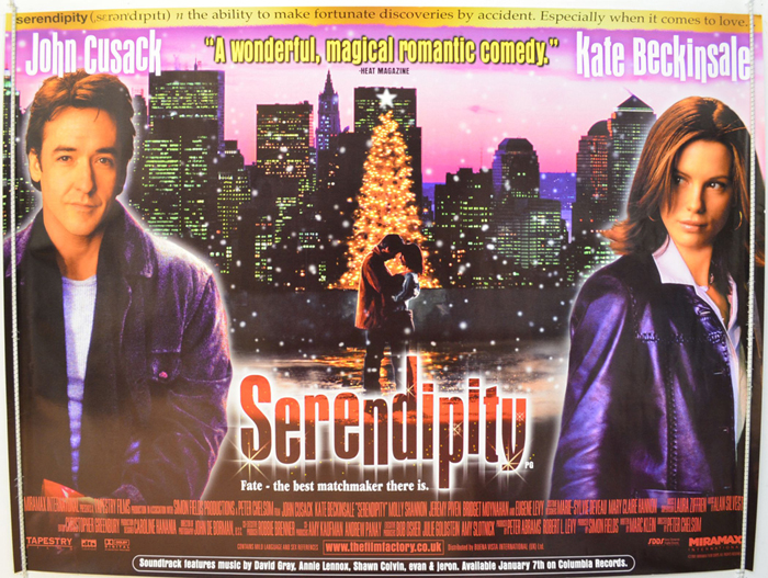 Serendipity - Original Cinema Movie Poster From ...