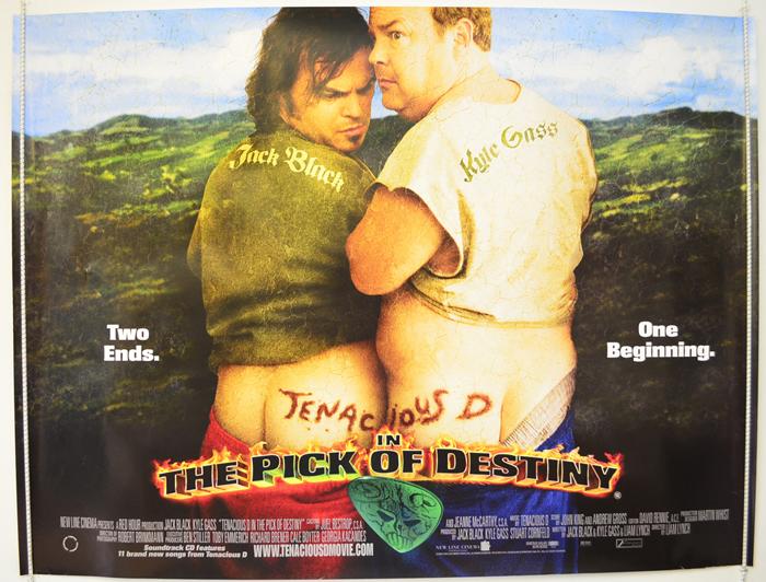 Tenacious D In The Pick Of Destiny - Original Cinema Movie ... Tenacious D Pick Of Destiny Poster