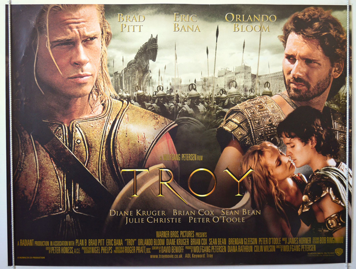 a review of the movie troy Wolfgang petersen's monumental movie troy recalls the old-fashioned epics of the studio era.
