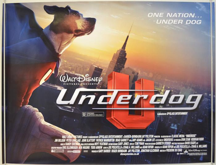 Movie Posters 2007: UNDERDOG (2007) Original Cinema Quad Movie Poster