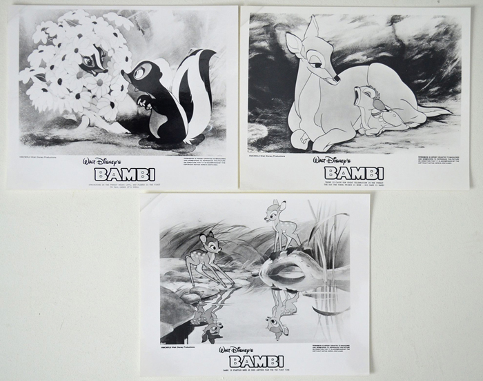 Bambi <p><i> 3 Black and White Stills </i></p>