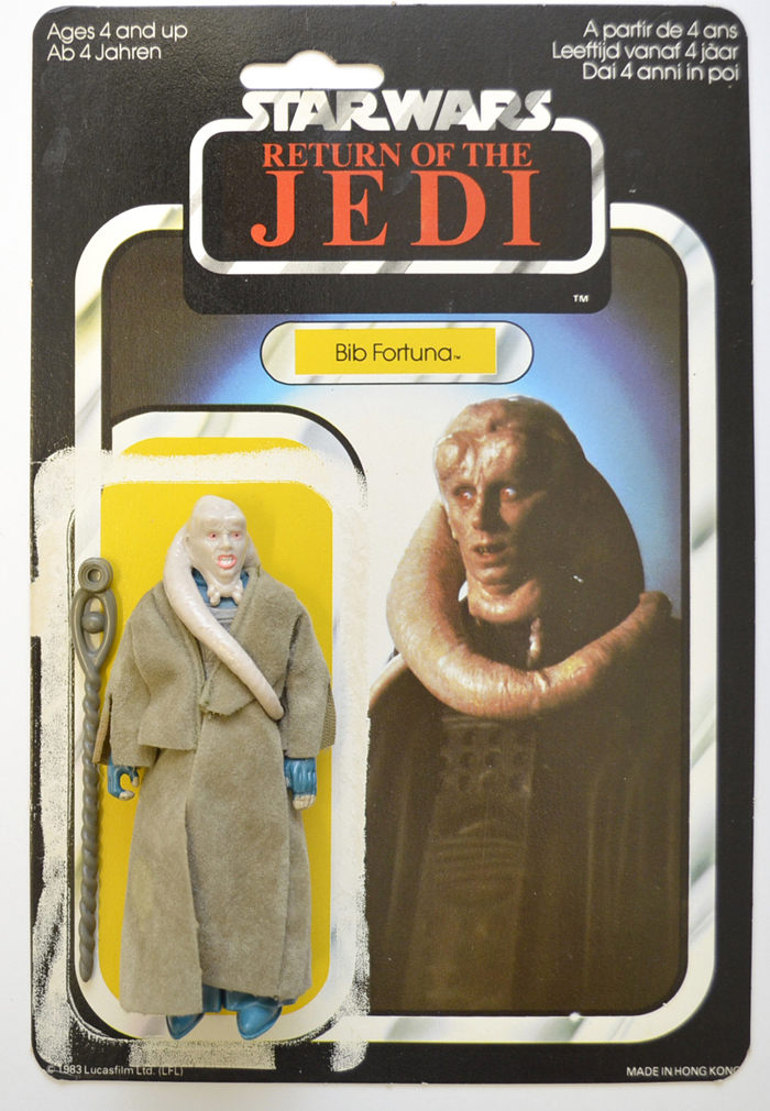 Vintage Star Wars Figure - BIB FORTUNA