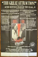 Fatal Attraction <p><i> (UK Bus Stop Poster) </i></p>