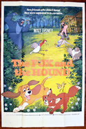 Fox And The Hound (The) <p><i> (UK Bus Stop Poster) </i></p>