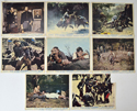 Major Dundee <p><a> Set of 8 Original Lobby Cards / Colour Front Of House Stills </i></p>