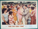 For The First Time <p><a> Single USA Lobby Card #2 </i></p>