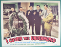 I Cover The Underworld <p><a> Single USA Lobby Card #8</i></p>