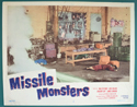 Missile Monsters <p><a> Single USA Lobby Card #3</i></p>