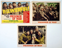 Prisoner Of War <p><a> 3 Original USA Lobby Cards </i></p>