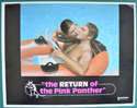 Return Of The Pink Panther (The) <p><a> Single USA Lobby Card #5 </i></p>