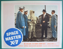Space Master X-7 <p><a> Single USA Lobby Card #5</i></p>