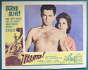 Terrified <p><a> Single USA Lobby Card #2 </i></p>