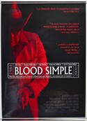 Blood Simple <p><i> (2000 re-release Poster) </i></p>