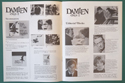 Damien Omen 2 - Press Book - Inside