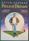 Field Of Dreams <p><i> Original 4 Page Cinema Exhibitors Campaign Press Book </i></p>