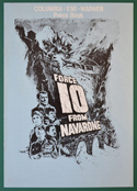 Force 10 From Navarone <p><i> Original 8 Page Cinema Exhibitors Campaign Press Book </i></p>