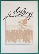 Glory <p><i> Original 6 Page Cinema Exhibitors Campaign Press Book </i></p>