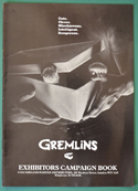 Gremlins <p><i> Original 12 Page Cinema Exhibitors Campaign Press Book </i></p>