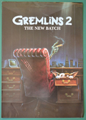 Gremlins 2 : The New Batch <p><i> Original 4 Page Cinema Exhibitors Synopsis / Credits Booklet </i></p>