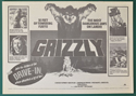 Grizzly <p><i> Original 8 Page Cinema Exhibitors Campaign Press Book </i></p>