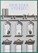 New York Stories  - Info Booklet -  Front