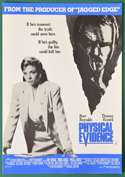 Physical Evidence <p><i>Original Cinema Exhibitors Synopsis / Credits Booklet </i></p>