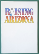 Raising Arizona <p><i> Original Cinema Exhibitors Campaign Press Book in Folder </i></p>