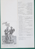 Smokey And The Bandit Ride Again <p><i> Original Cinema Synopsis / Credits Sheet  </i></p>