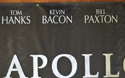 APOLLO 13 Cinema BANNER – Front Top Center View