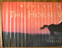 THE HORSE WHISPERER Cinema BANNER - Left