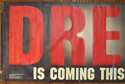 JUDGE DREDD Cinema BANNER Left