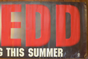JUDGE DREDD Cinema BANNER Right