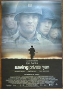 SAVING PRIVATE RYAN Cinema BANNER- Front