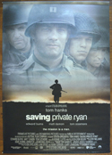 SAVING PRIVATE RYAN Cinema BANNER –  Back View