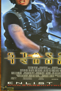 STARSHIP TROOPERS Cinema BANNER –  Bottom Left View