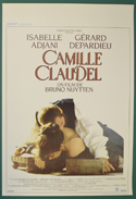 Camille Claudel <p><i> (Original Belgian Movie Poster) </i></p>