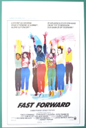 Fast Forward <p><i> (Original Belgian Movie Poster) </i></p>