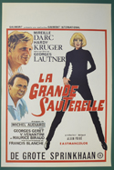 La Grande Sauterelle <p><i> (Original Belgian Movie Poster) </i></p>
