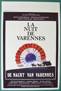 La nuit de Varennes <p><i> (Original Belgian Movie Poster) </i></p>