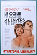 Le coeur à l'envers <p><i> (Original Belgian Movie Poster) </i></p>