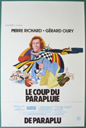 Le coup du parapluie <p><i> (Original Belgian Movie Poster) </i></p>